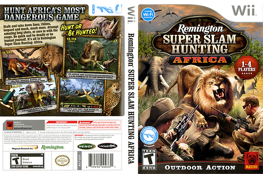 Remington Super Slam Hunting: Africa Wii cover (SS7EFP)