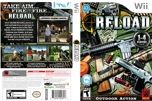 Reload Wii cover (STDEFP)