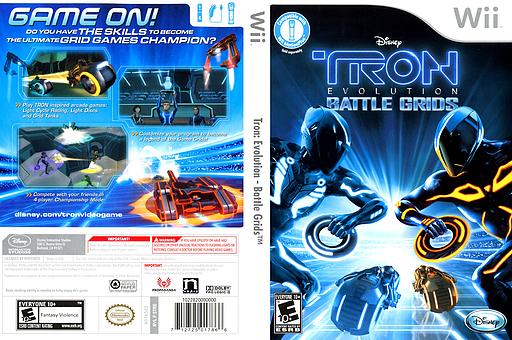 Tron: Evolution - Battle Grids Wii cover (STRE4Q)