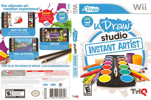 uDraw Studio: Instant Artist Wii cover (SUUE78)