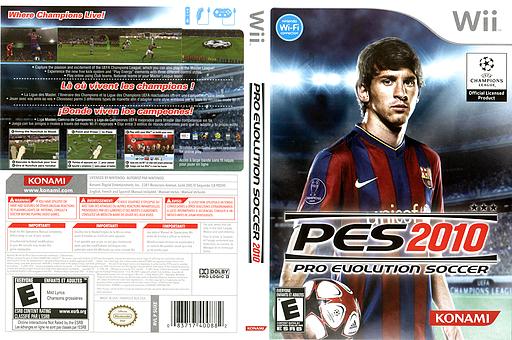 Pro Evolution Soccer 2010 Wii cover (SUXEA4)