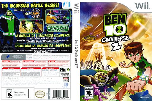 Ben 10: Omniverse 2 Wii cover (SVYEG9)