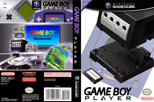 Game Boy Player GameCube cover (UGPE01)
