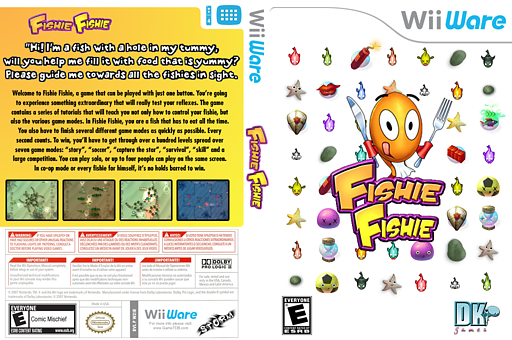 Fishie Fishie WiiWare cover (W2IE)
