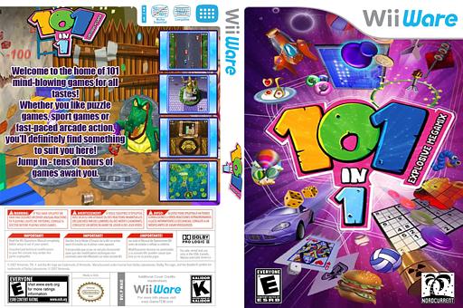 101 in 1 Explosive Megamix Wii hq 101-in-1 Explosive Megamix