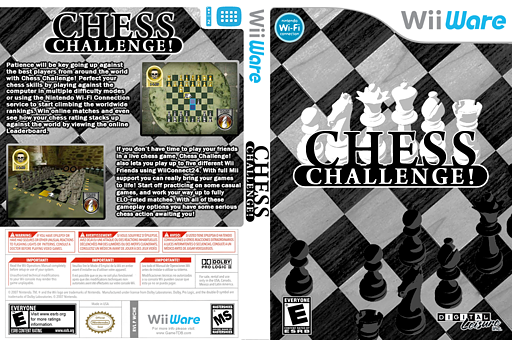 Chess Challenge! WiiWare cover (WCHE)