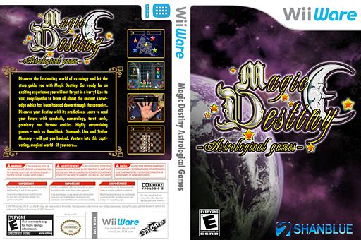 Magic Destiny Astrological Games WiiWare cover (WDEE)
