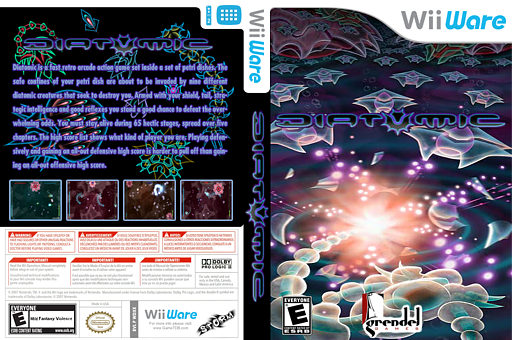 Diatomic WiiWare cover (WDXE)