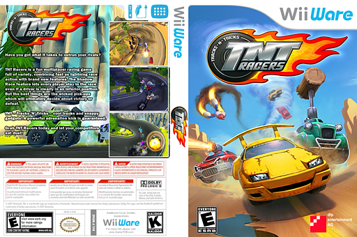 TNT Racers WiiWare cover (WENE)