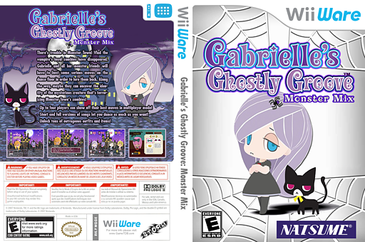 Gabrielle's Ghostly Groove: Monster Mix WiiWare cover (WGGE)