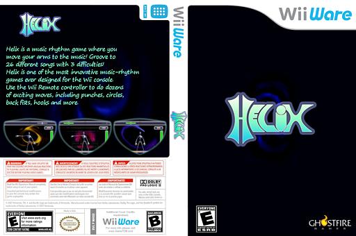 Helix WiiWare cover (WHXE)