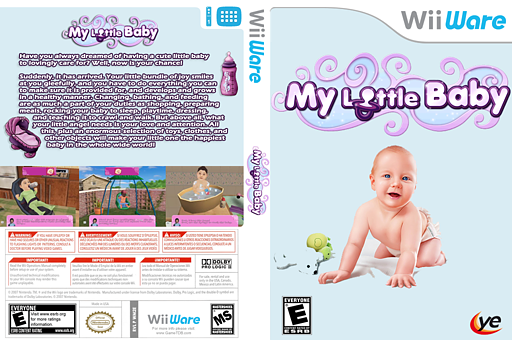 My Little Baby WiiWare cover (WM2E)