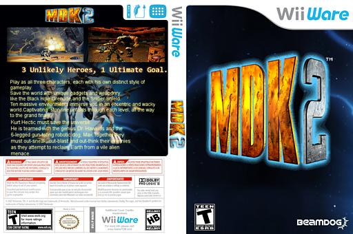 MDK2 WiiWare cover (WM5E)