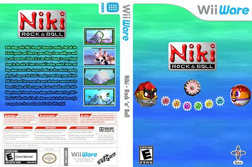 Niki - Rock 'n' Ball WiiWare cover (WNKE)