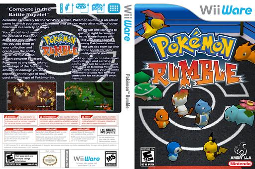 Pokémon Rumble WiiWare cover (WPSE)