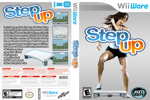 Step Up WiiWare cover (WRSE)