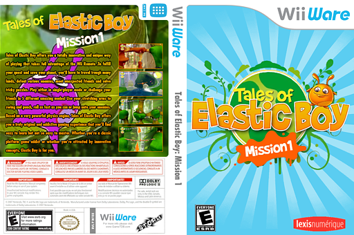 Tales of Elastic Boy: Mission 1 WiiWare cover (WTEE)