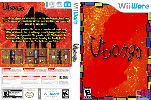 Ubongo WiiWare cover (WUBE)