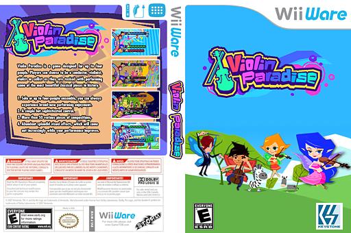 Violin Paradise WiiWare cover (WVIE)