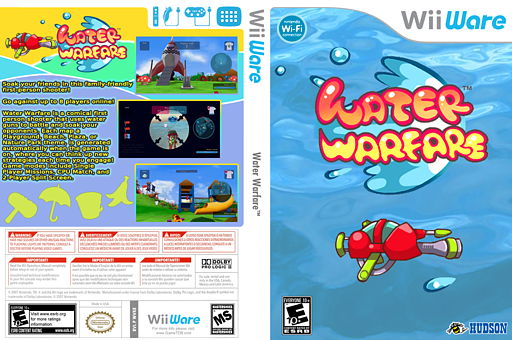 Water Warfare WiiWare cover (WVKE)