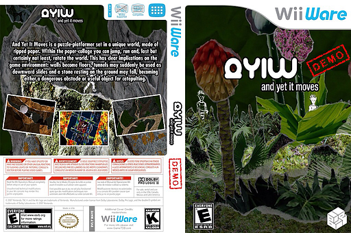Ayim And Yet It Moves Demo WiiWare cover (XH5E)