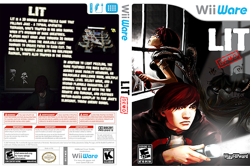 Lit (Demo) WiiWare cover (XH7E)