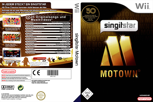 SingItStar Motown CUSTOM cover (SMOT3Q)