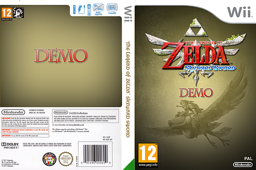 The Legend of Zelda: Skyward Sword (Demo) Wii cover (DAXP01)