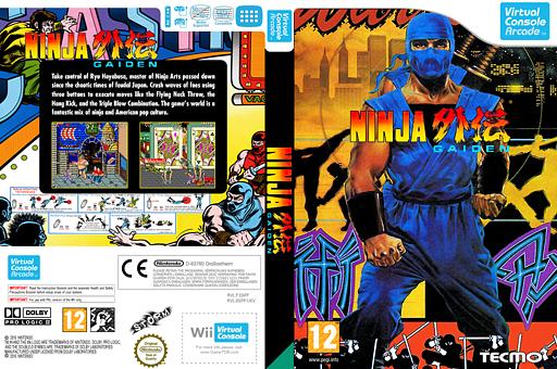 Ninja Gaiden VC-Arcade cover (E6PP)