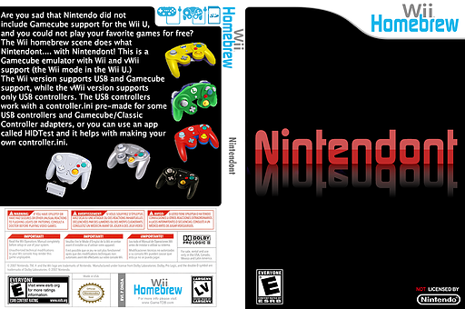 Nintendont Homebrew cover (DNDA)
