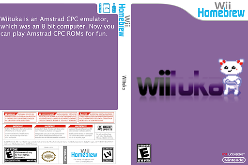 Wiituka Homebrew cover (DWTA)