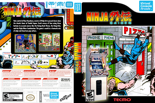 Ninja Gaiden VC-Arcade cover (E6PE)