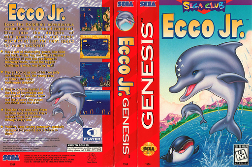 Ecco Jr. VC-MD cover (MBXE)