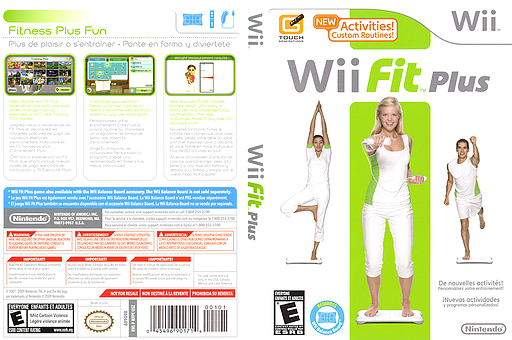 Wii Fit Plus Wii cover (RFPE01)