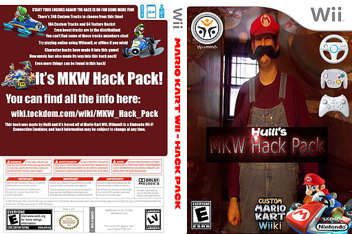 MKW Hack Pack CUSTOM cover (RMCE93)