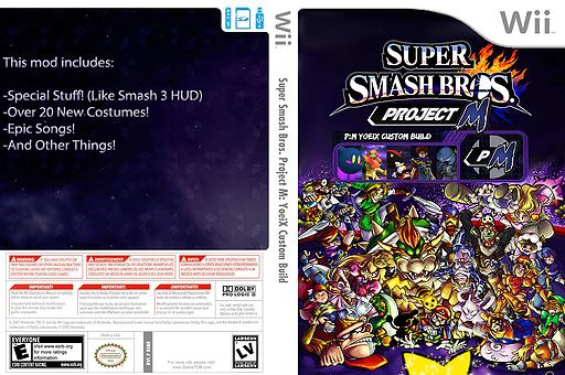 Super Smash Bros. Project M: YoeiX Custom Build CUSTOM cover (RSBE29)