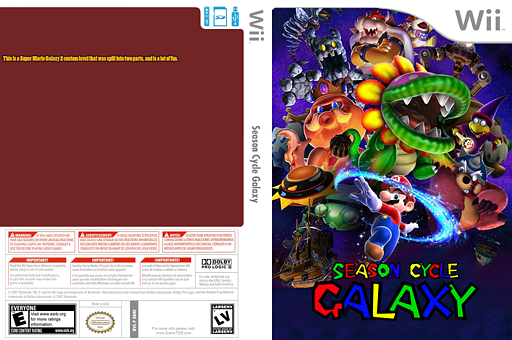 Season Cycle Galaxy CUSTOM cover (SB4E05)