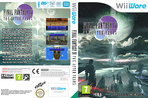 Final Fantasy IV: The After Years WiiWare cover (WF4P)