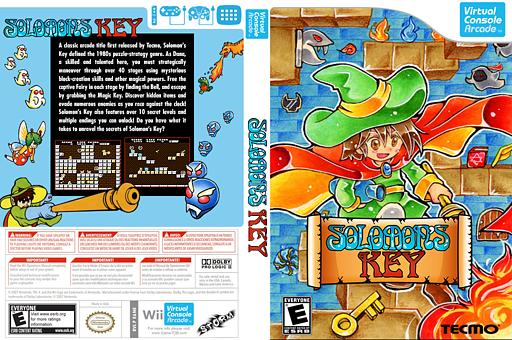 Solomon's Key VC-Arcade cover (E6NE)