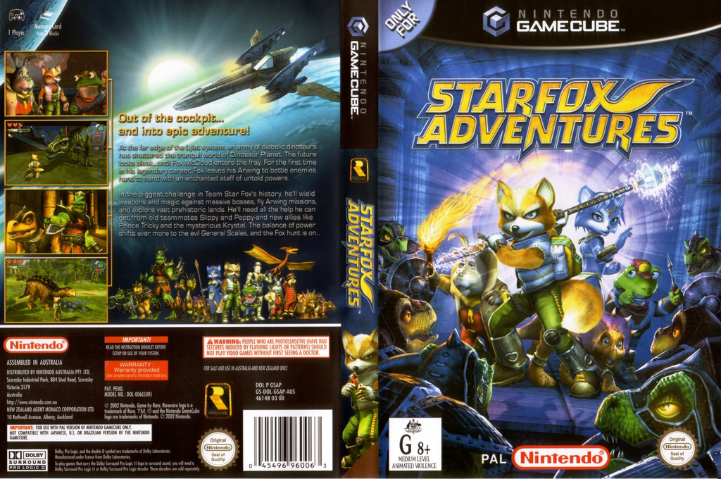 Star Fox Adventures Array coverfullHQ (GSAP01)