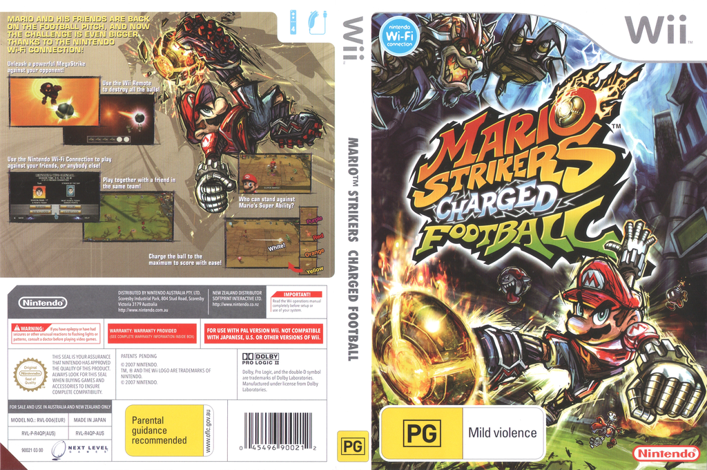 Mario Strikers Charged Football Wii coverfullHQ (R4QP01)