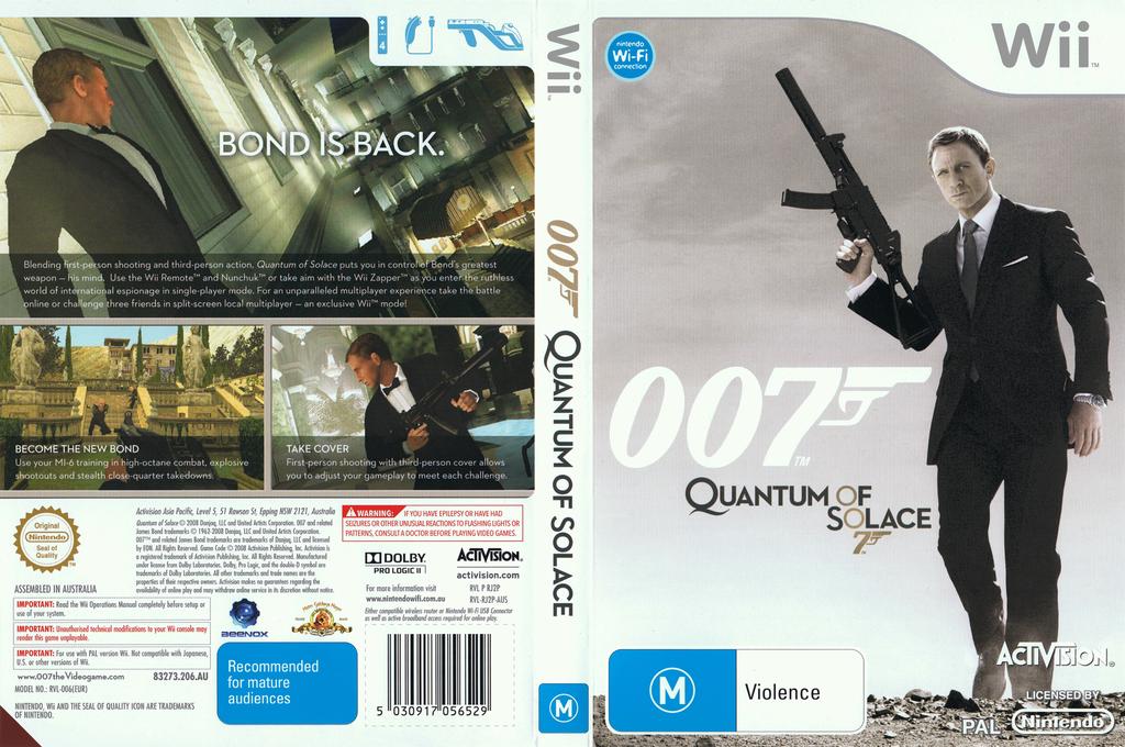007: Quantum of Solace Wii coverfullHQ (RJ2P52)