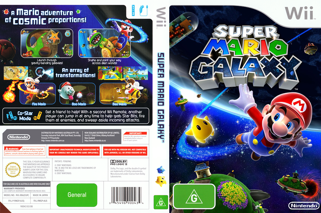 Super Mario Galaxy Wii coverfullHQ (RMGP01)