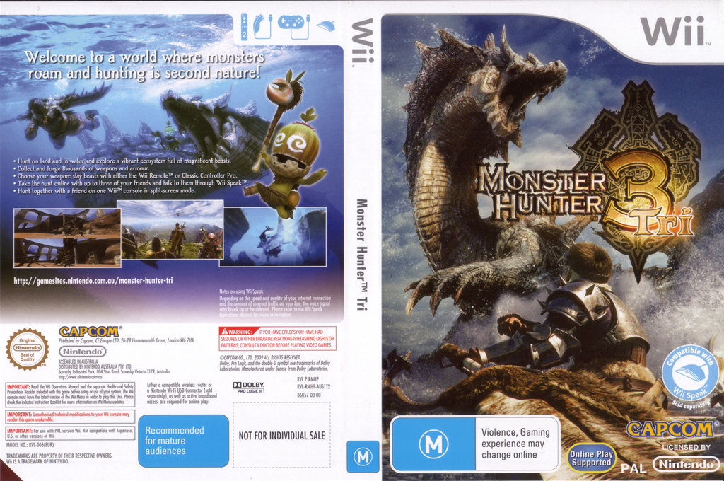 Monster Hunter Tri Wii coverfullHQ (RMHP08)