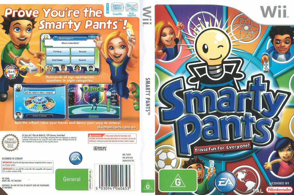 Smarty Pants Array coverfullHQ (RP2P69)