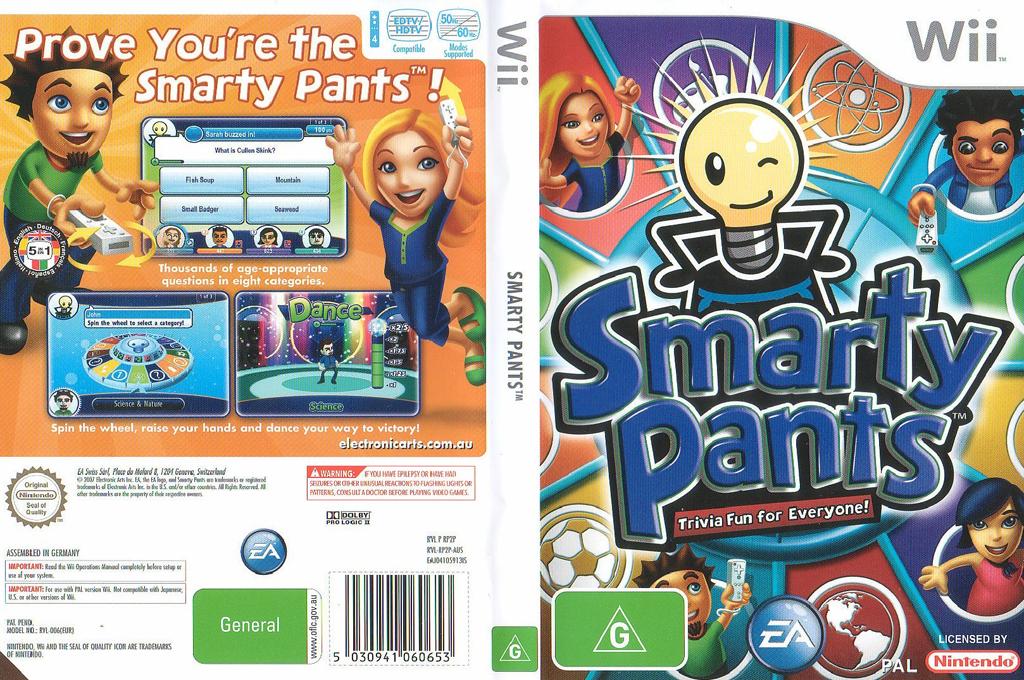 RP2P69 - Smarty Pants Smartie Spel