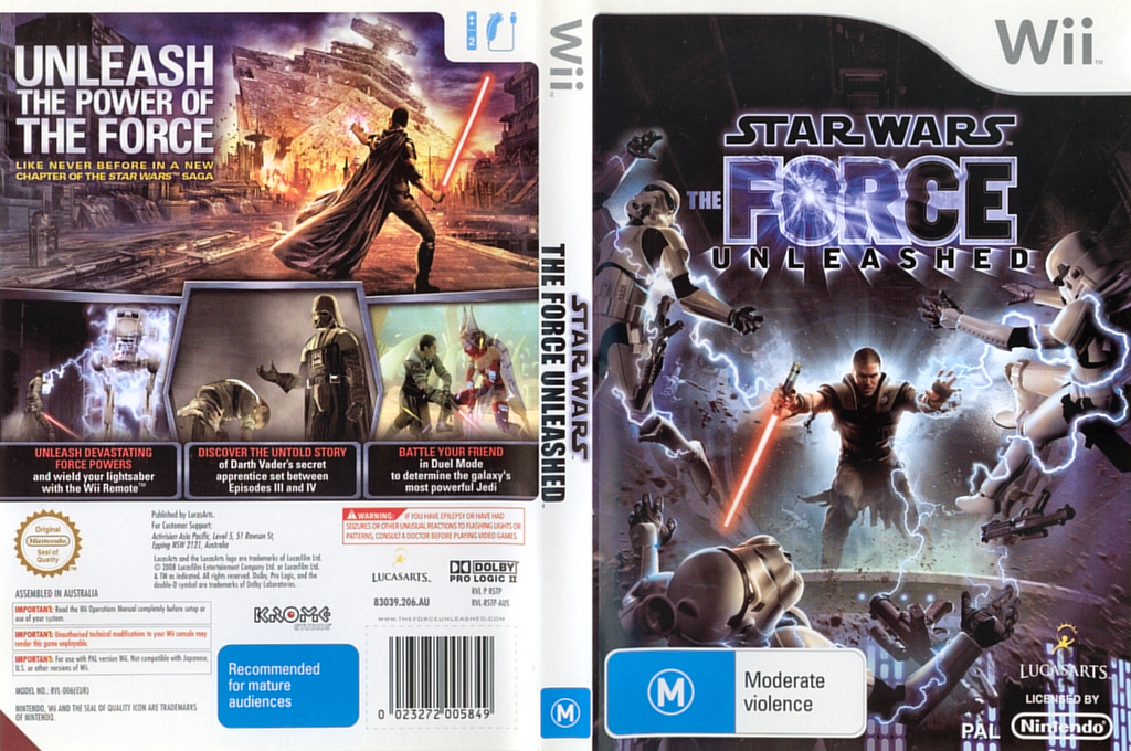 Star Wars: The Force Unleashed Wii coverfullHQ (RSTP64)