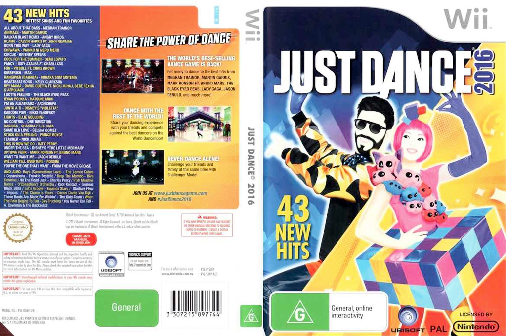 Just Dance 2016 Array coverfullHQ (SJNP41)