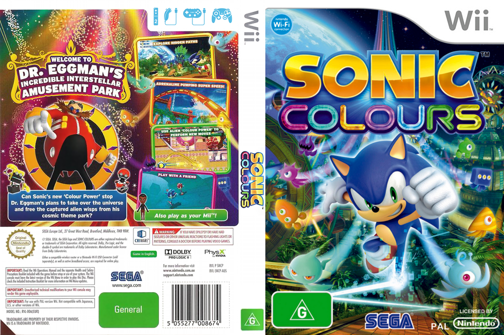 Sonic Colours Wii coverfullHQ (SNCP8P)