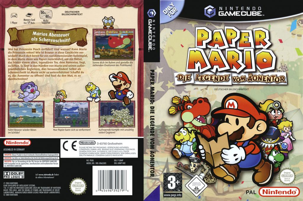 Paper Mario: Die Legende Vom Äonentor Wii coverfullHQ (G8MP01)
